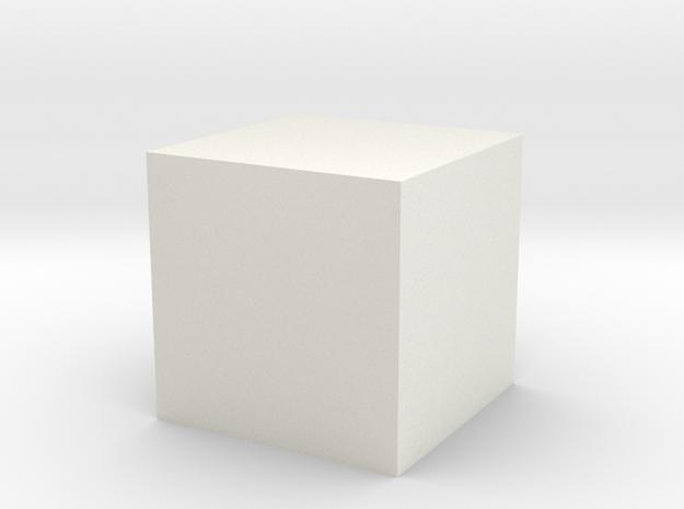 9qkji48a33elt3l3sn01nhu9p6 45735878 Mod.stl in White Strong & Flexible