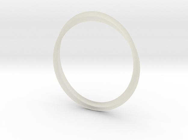 Infinity Bracelet in Transparent Acrylic