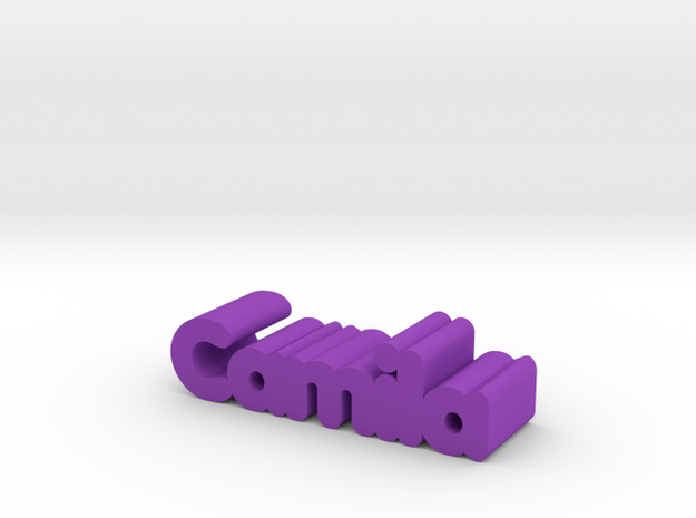 Camila in Purple Processed Versatile Plastic