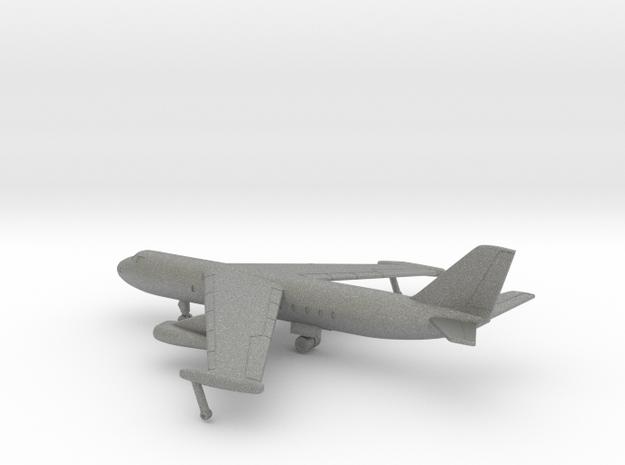 Baade 152 V1 in Gray PA12: 1:400
