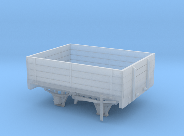 W&LLR Timber Bolster Open Wagon Conv - 7mm Scale in Smooth Fine Detail Plastic