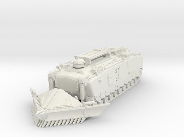 LVTE-5 (deployed) 1/76 in White Natural Versatile Plastic