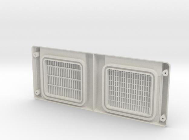 Air Purifier Cover JDM Toyota Soarer GZ20/MZ20 in White Natural Versatile Plastic