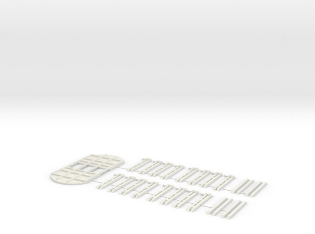 Bausatz ROOS Scala TT in White Natural Versatile Plastic
