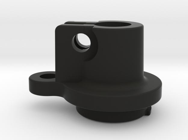 Sleeve Clamp Stepper side for Nimble V1.2 in Black Natural Versatile Plastic