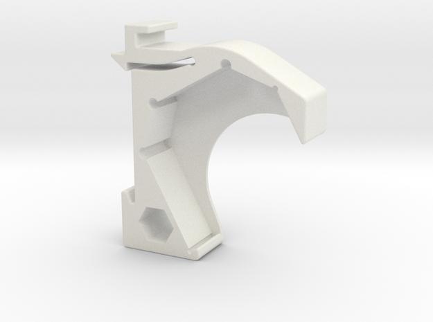Shelly 2.5 DIN rail mount in White Natural Versatile Plastic