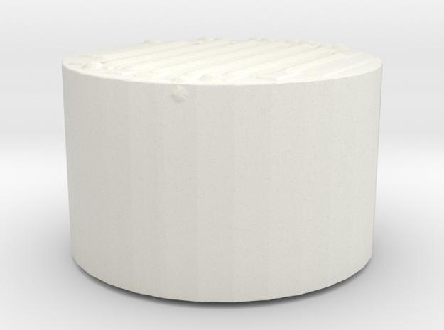 Filter2 in White Natural Versatile Plastic