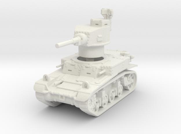 M3 Stuart early 1/120 in White Natural Versatile Plastic