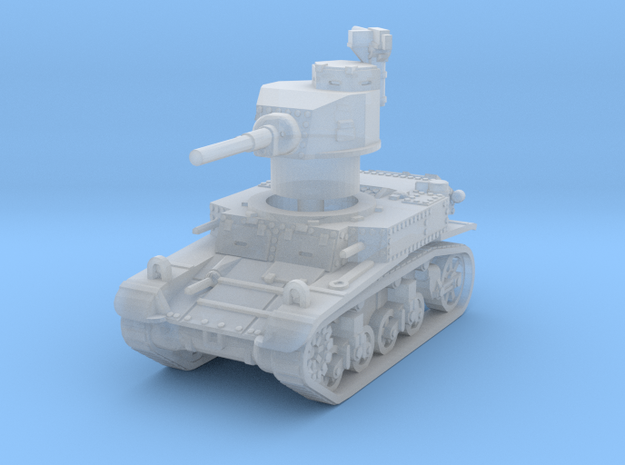 M3 Stuart early 1/220 in Smooth Fine Detail Plastic