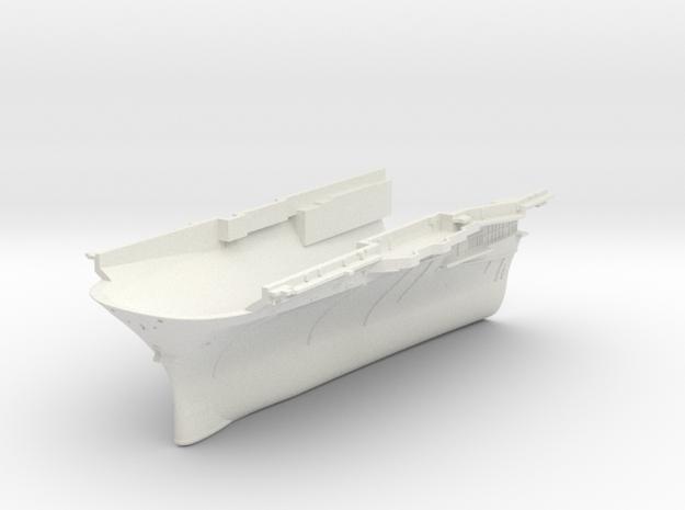 1/600 CVS-11 USS Intrepid Bow in White Natural Versatile Plastic