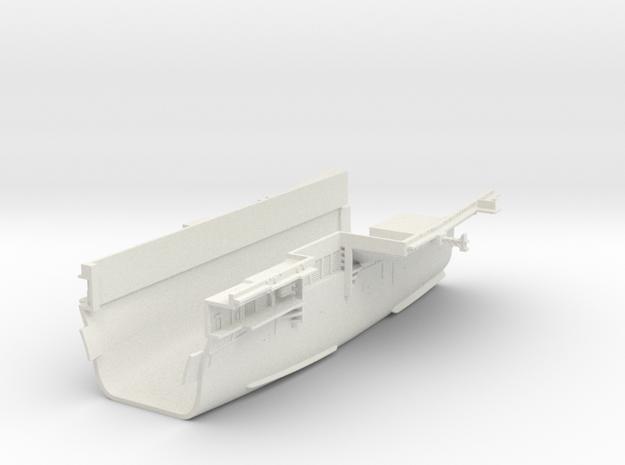 1/600 CVS-11 USS Intrepid Midships in White Natural Versatile Plastic