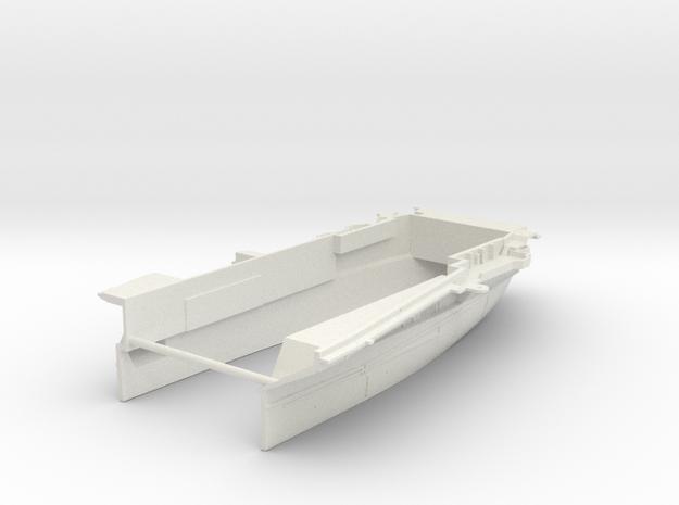 1/600 CVS-11 USS Intrepid Stern (Waterline) in White Natural Versatile Plastic