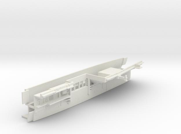 1/600 CVS-11 Intrepid Midsh. Waterline Open Doors in White Natural Versatile Plastic
