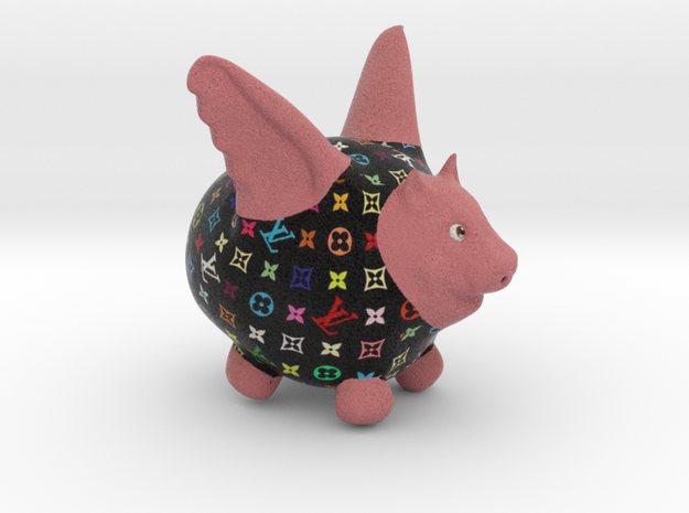 Flying Pig - Designer 2 3d printed