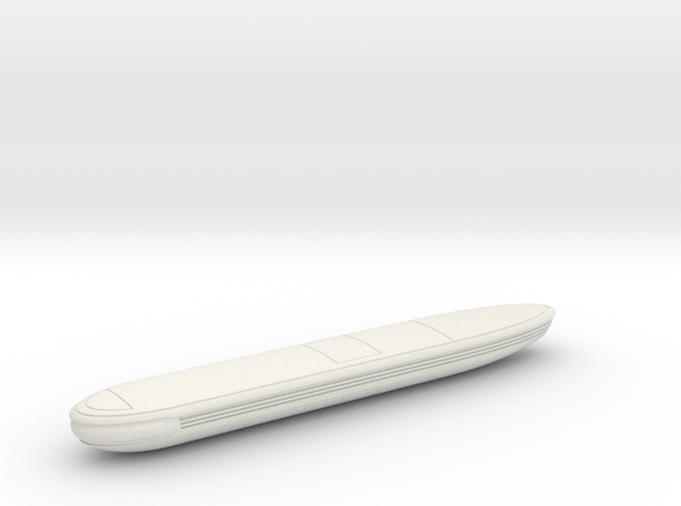 1400 JM Voyager Concept Nacelle Right in White Natural Versatile Plastic