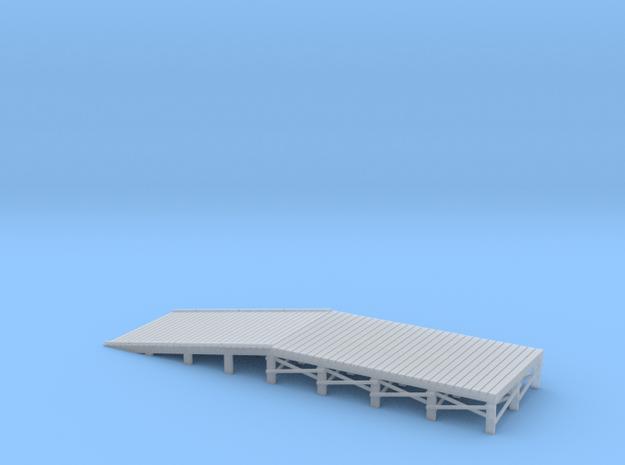 N Scale Loading Ramp Rev B in Smooth Fine Detail Plastic