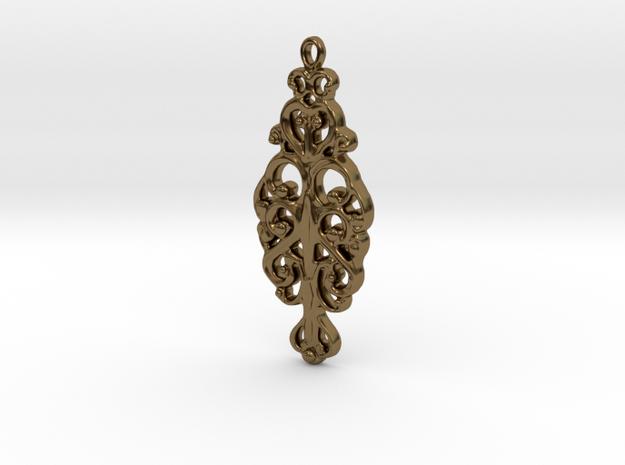 Ornamental Pendant 3d printed