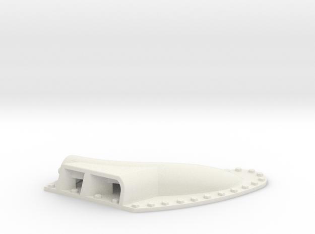 Higgins muffler 24th early stbd in White Natural Versatile Plastic