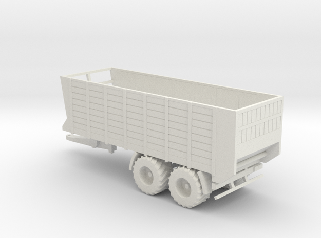 NEW!! 1:160/N-Scale Silage Trailer Fixed Model in White Natural Versatile Plastic