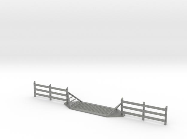 Cattle Guard - N-Scale in Gray PA12: 1:160 - N