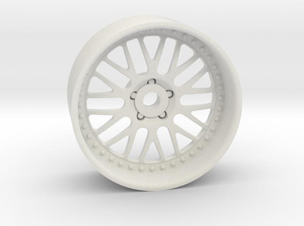 GR10 19x8mm 4x1mm Hex OS -2 BS 2 in White Natural Versatile Plastic