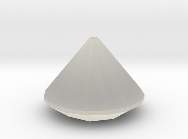 Perfect diamond model 3d printed