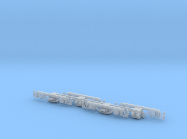 HO PE submarine sideframes in Smooth Fine Detail Plastic
