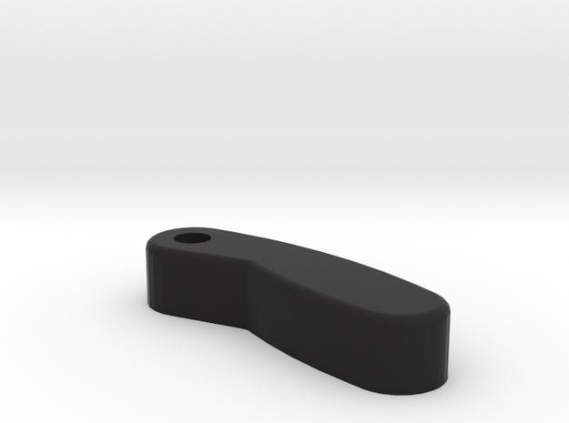 Lofrans Marlin 2 14mm Spring Solid Plastic in Black Natural Versatile Plastic
