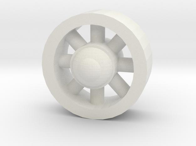 koleso in White Natural Versatile Plastic