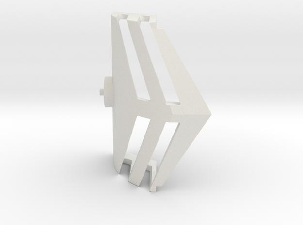 Starcom - Upriser - Windshield in White Natural Versatile Plastic