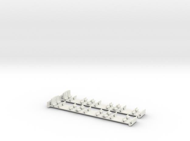 U-Bahn  Wien Inneneinrichtung mit Boden in White Natural Versatile Plastic