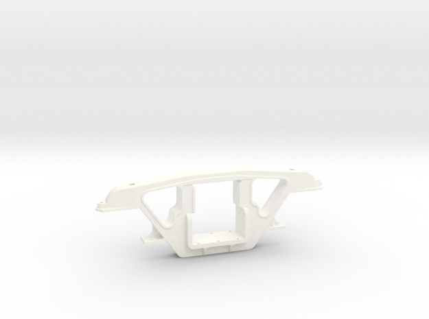 """3/4"""" Scale Andrews Tender Truck Side Frame in White Strong & Flexible Polished"""