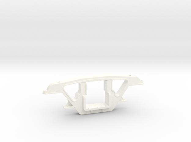 "3/4"" Scale Andrews Tender Truck Side Frame in White Processed Versatile Plastic"