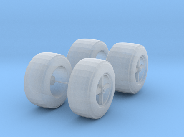 Parnelli 72-73 Tires in Smooth Fine Detail Plastic