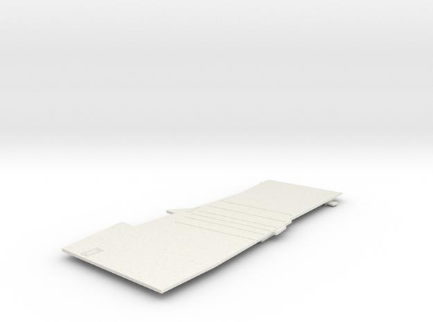 1/600 CVS-11 USS Intrepid Flight Deck Rear in White Natural Versatile Plastic