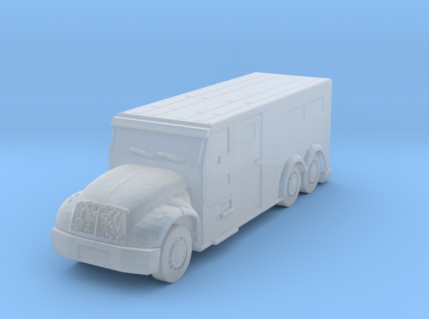 International Armored Truck 6x6 1/220 in Smooth Fine Detail Plastic