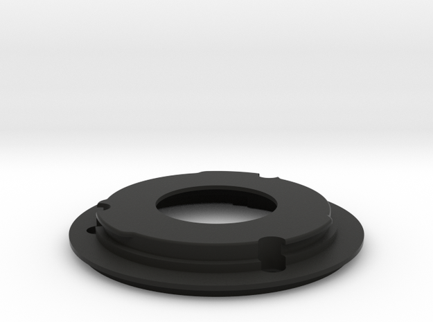 FDn to EF Mount for nFD17mm f/4 in Black Natural Versatile Plastic