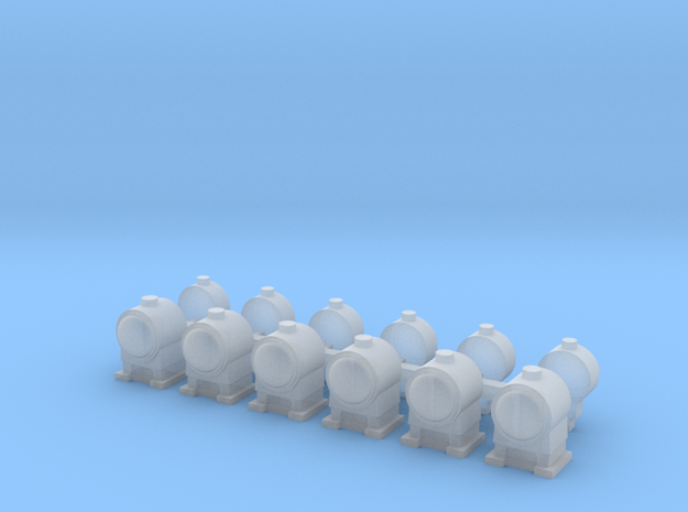 OO Scale Lamps V2 in Smoothest Fine Detail Plastic
