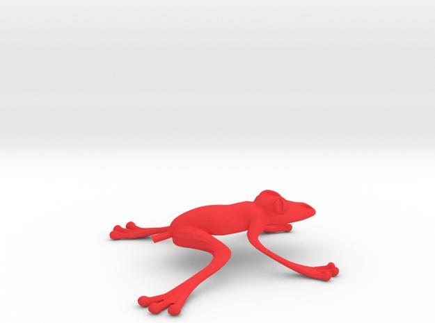 Jumping Tree Frog 3d printed