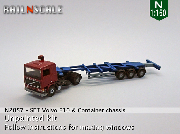 SET Volvo F10 & Container chassis (N 1:160)