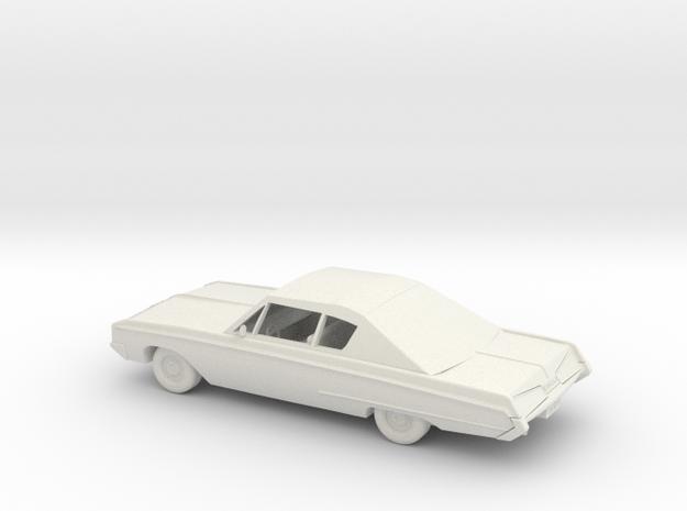 Dodge Monaco 500 - 1967 - 1:24 in White Natural Versatile Plastic