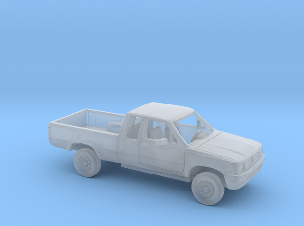 1/64 1988-97 Toyota Hilux Extended Cab Reg Bed Kit in Smooth Fine Detail Plastic