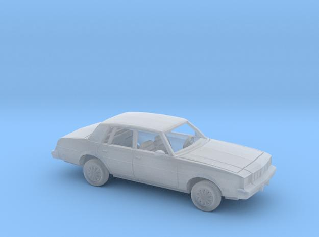 1/87 1979-81 Oldsmobile Cutlass Brougham Sedan Kit in Smooth Fine Detail Plastic