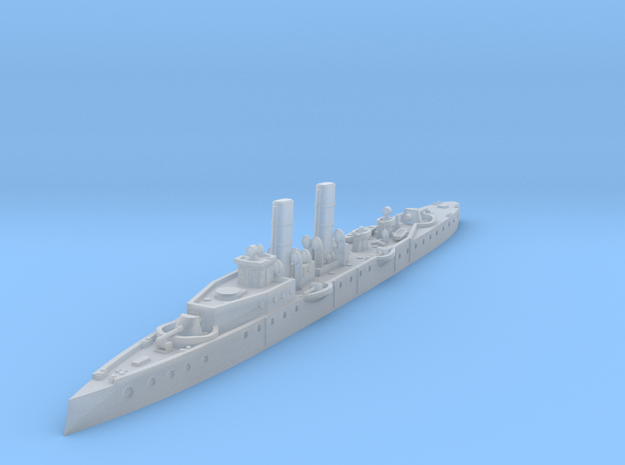 1/700 Psilander Torpedo Cruiser (1899) in Smooth Fine Detail Plastic