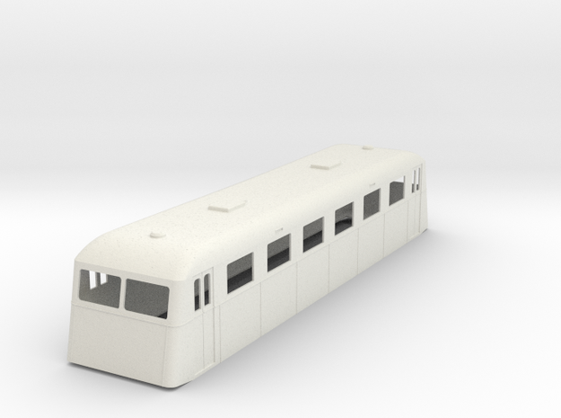 sj32-ub01p-ng-trailer-passenger-coach in White Natural Versatile Plastic