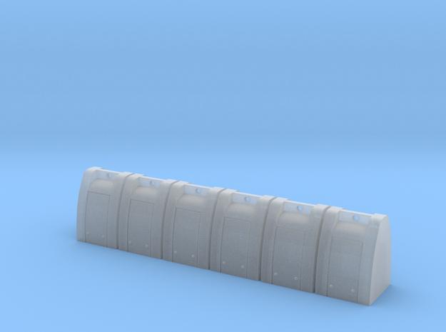 Ondergrondse Vuilniscontainer (1:87) in Smooth Fine Detail Plastic