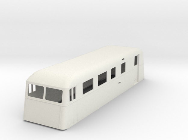 sj55-ucd01p-ng-trailer-passenger-post-coach in White Natural Versatile Plastic