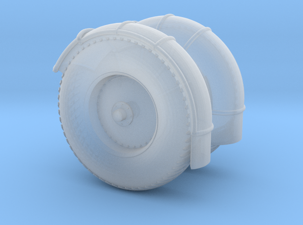 07ab-Wheels in Smooth Fine Detail Plastic