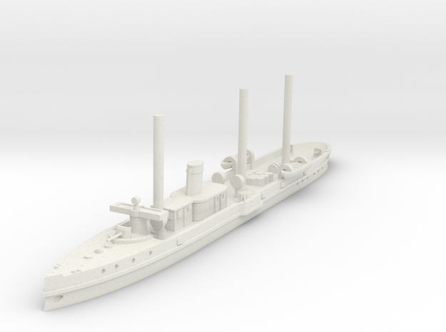 1/700 Destructor (1890) in White Natural Versatile Plastic