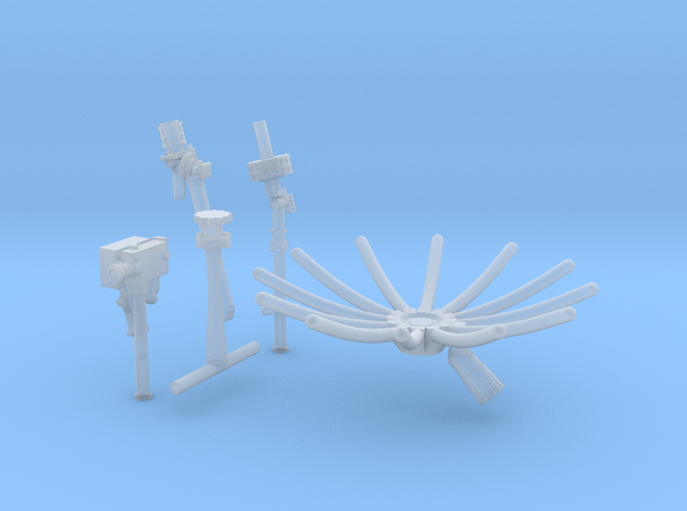 11ceg-12b-13a-Antennas and 16 mm camera in Smooth Fine Detail Plastic